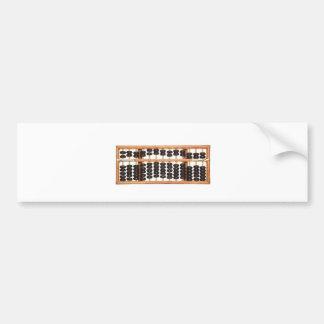 Abacus Bumper Sticker