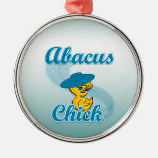 Abacus Chick Ornaments