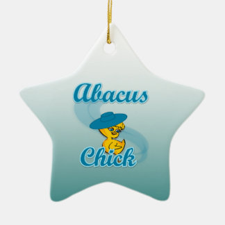 Abacus Chick Christmas Ornament