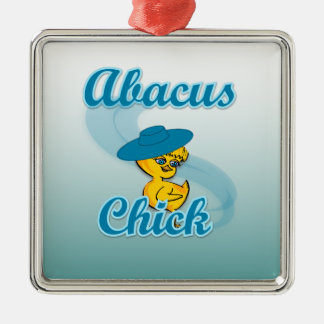 Abacus Chick Christmas Tree Ornament