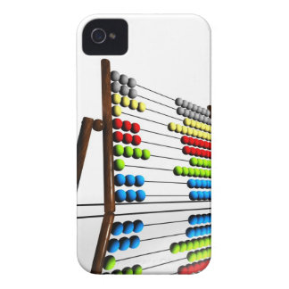 Abacus, computer artwork. iPhone 4 case