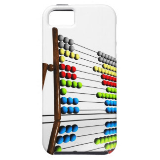 Abacus, computer artwork. iPhone SE/5/5s case