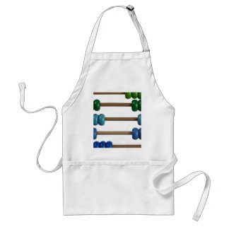Abacus for kids adult apron