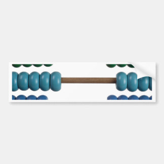 Abacus for kids bumper sticker