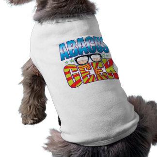 Abacus Geek v4 Pet Shirt
