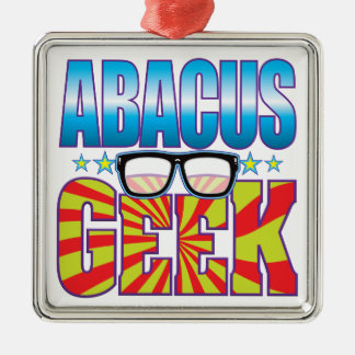 Abacus Geek v4 Christmas Ornament