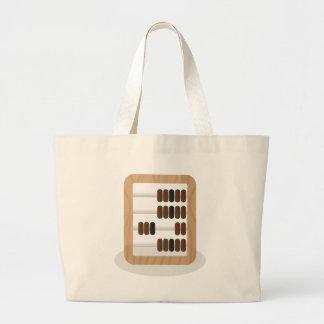 Abacus Large Tote Bag