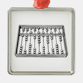 Abacus Christmas Ornament