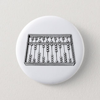 Abacus Pinback Button