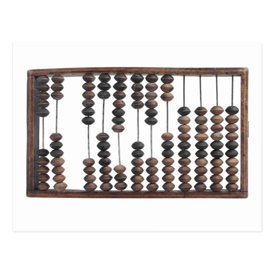 abacus postcard