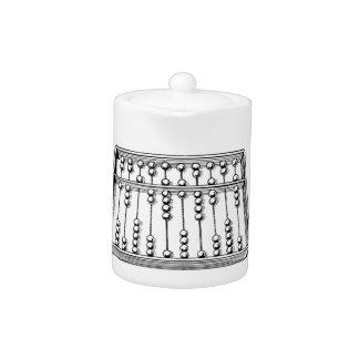 Abacus Teapot