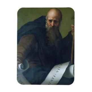 Abad de St Anthony (c.251-356) c.1518-19 (aceite e Imanes