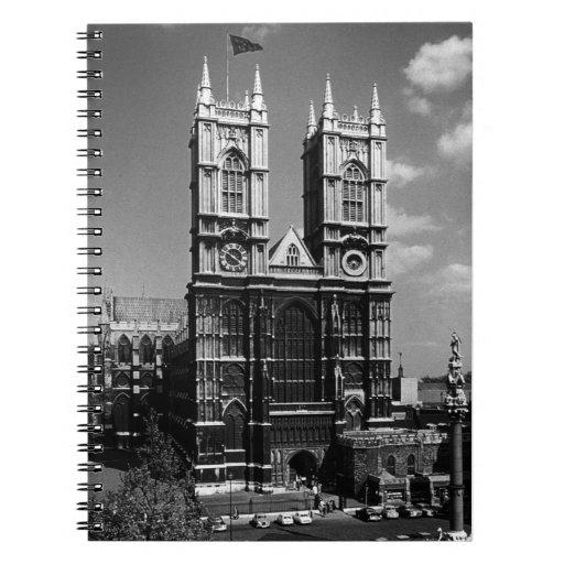 Abadía 1970 de Inglaterra Londres Westminster del Cuaderno