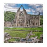 Abadía antigua de Tintern, monasterio Tejas Cerámicas