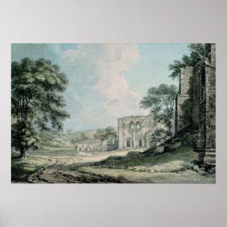 Abadía de Furness, Lancashire Póster