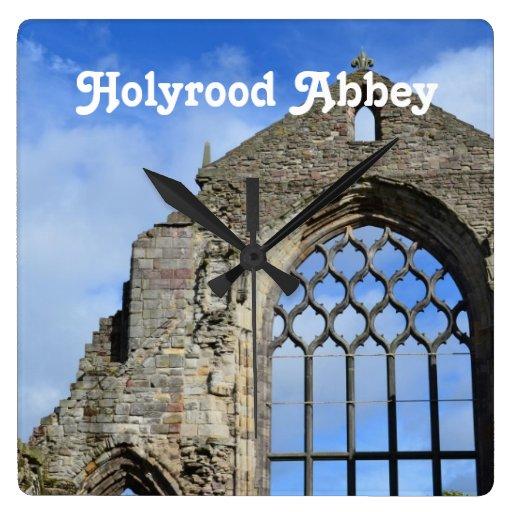 Abadía de Holyrood Reloj De Pared