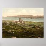 Abadía de Iona, Argyll y Bute, Escocia Póster