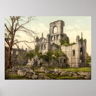 Abadía de Kirkstall, Leeds, Yorkshire, Inglaterra Posters