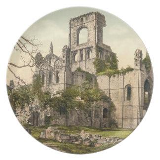 Abadía de Kirkstall Leeds Yorkshire Inglaterra Platos Para Fiestas