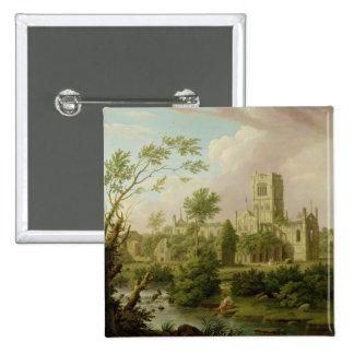 Abadía de Kirkstall, Yorkshire, 1747 (aceite en lo Pin Cuadrada 5 Cm