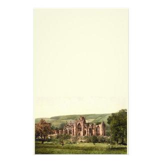 Abadía de la colada, fronteras escocesas, Escocia Papeleria Personalizada