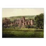 Abadía de la colada, tarjeta de nota de Escocia