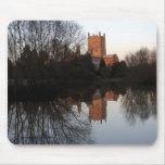 Abadía de Mousemat - de Tewkesbury Alfombrillas De Ratones