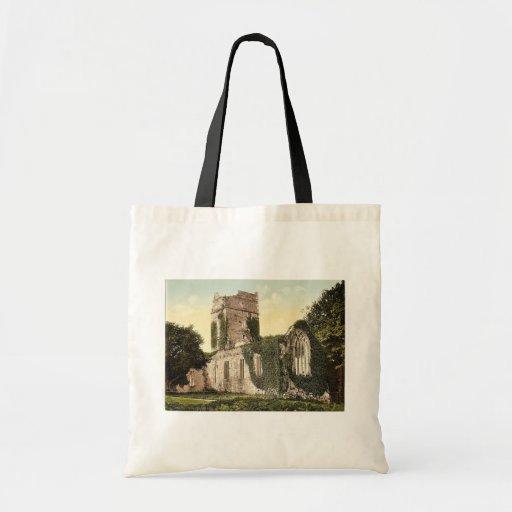 Abadía de Muckross. Killarney. Co. Kerry, magn de  Bolsa Lienzo