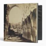 Abadía de Rievaulx, North Yorkshire, 1854 (foto de