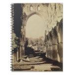 Abadía de Rievaulx, North Yorkshire, 1854 (foto de Libros De Apuntes Con Espiral