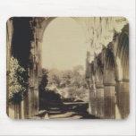 Abadía de Rievaulx, North Yorkshire, 1854 (foto de Tapetes De Ratones