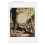 Abadía de Rievaulx, North Yorkshire, 1854 (foto de Tarjeta De Felicitación