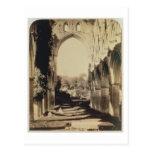 Abadía de Rievaulx, North Yorkshire, 1854 (foto de Tarjeta Postal