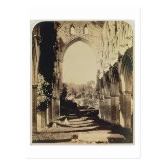 Abadía de Rievaulx, North Yorkshire, 1854 (foto de Tarjetas Postales