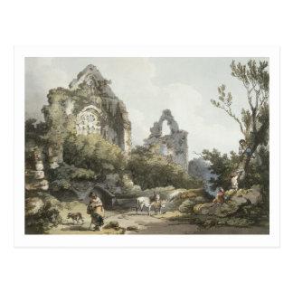 Abadía de Tintern, 'el del romántico y pintoresco Postales