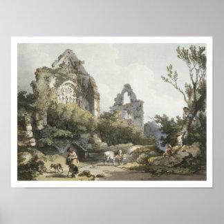Abadía de Tintern, 'el del romántico y pintoresco Póster