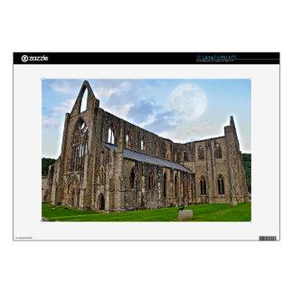 Abadía de Tintern, monasterio cisterciense, País Calcomanía Para Portátil