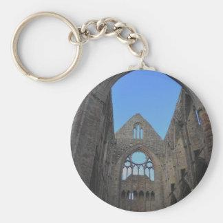 Abadía de Tintern, monasterio cisterciense, País Llavero Redondo Tipo Pin
