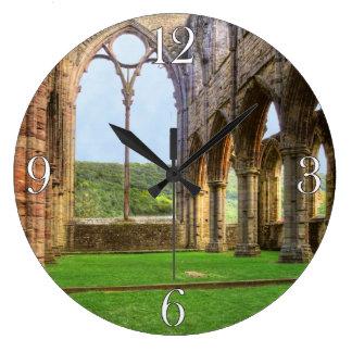 Abadía de Tintern, monasterio cisterciense, País Reloj Redondo Grande
