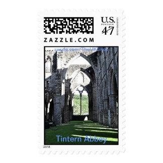 Abadía de Tintern, monasterio cisterciense, País Sellos Postales