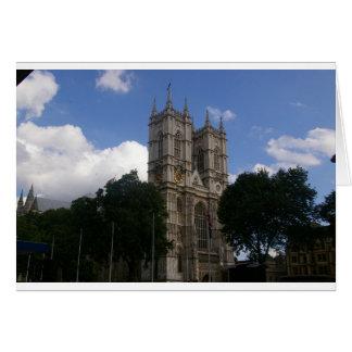 Abadía de Wesminster Tarjeton