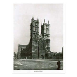 Abadía de Westminster 1900 Tarjeta Postal