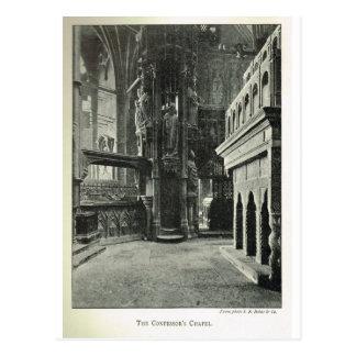 Abadía de Westminster, la capilla 1904 del confeso Postales