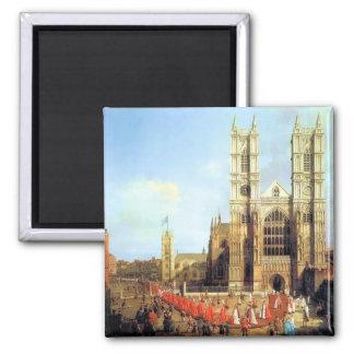 Abadía de Westminster Londres Imán Cuadrado