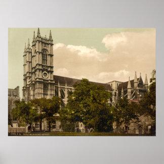 Abadía de Westminster, Londres, Inglaterra Poster