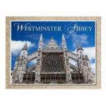 Abadía de Westminster, Londres, Inglaterra Tarjeta Postal