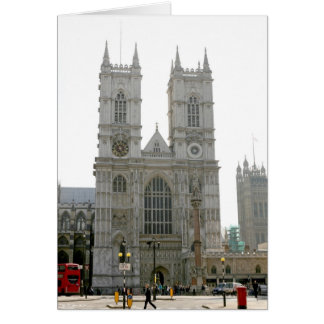 Abadía de Westminster, Londres Tarjeta De Felicitación