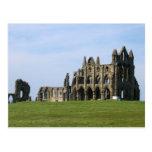 Abadía de Whitby en North Yorkshire Tarjetas Postales