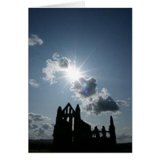 Abadía de Whitby Tarjeta De Felicitación