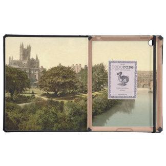 Abadía del baño baño Somerset Inglaterra iPad Coberturas
